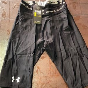 New men's under armour compression shorts